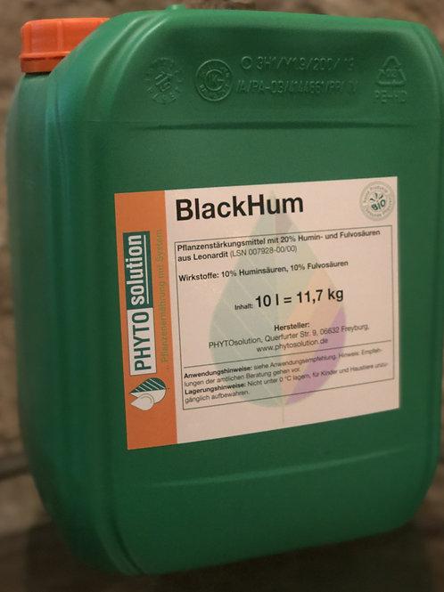 BlackHum 10l Pflanzenstärkungsmittel auf Huminsäurebasis
