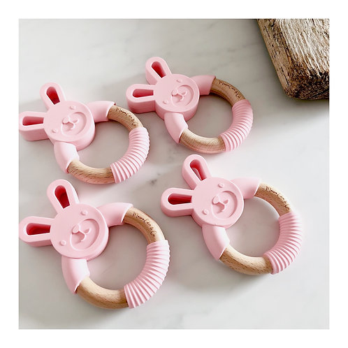 Hochet Lapinou - Pink