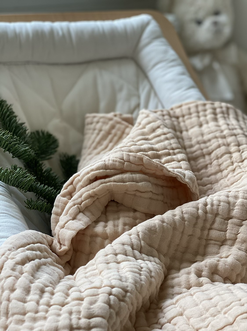Cocoon couverture - Sable Chaud