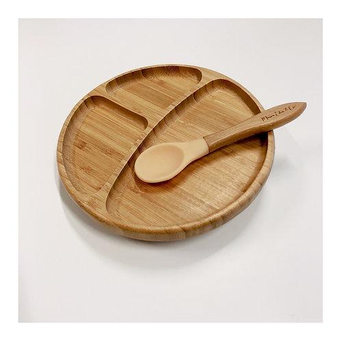 Assiette Bambou Ventousée