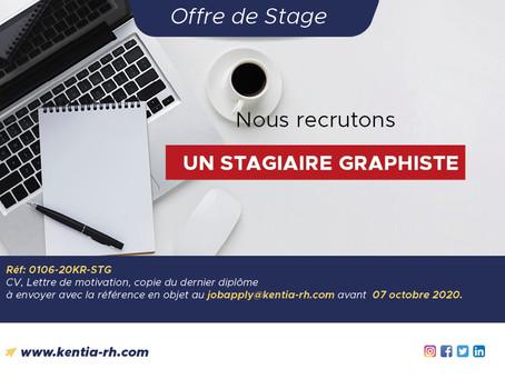 UN(E) STAGIAIRE GRAPHISTE