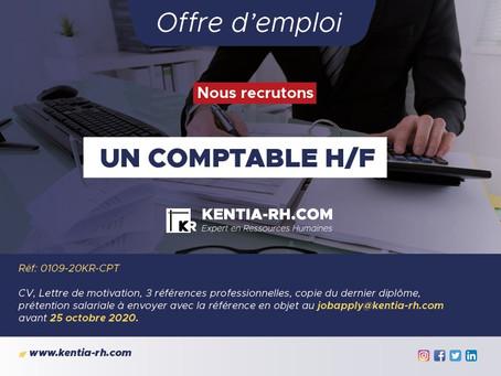 UN COMPTABLE H/F