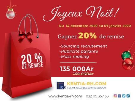 Cadeau pour Noël : 20% DE REMISE SUR NOS SOURCING