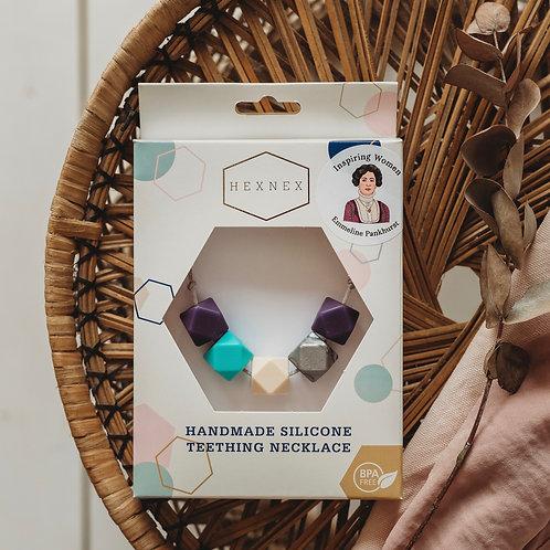 Emmeline Pankhurst - Inspiring Women Necklace