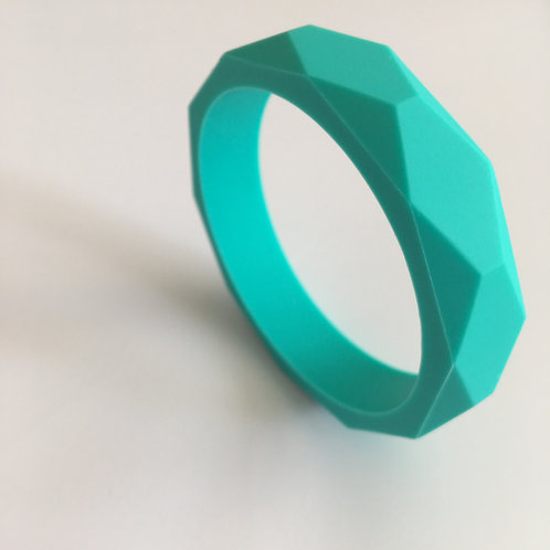 Ocean Turquoise Teething Bangle