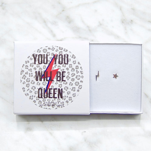 Sterling Silver Earring Set with Giftbox