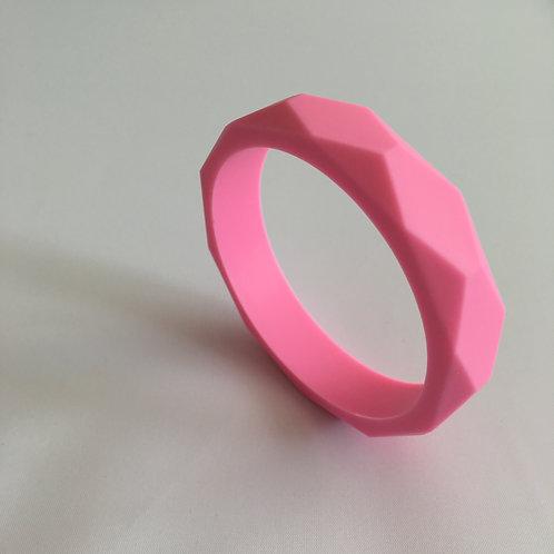 Baby Pink Teething Bangle