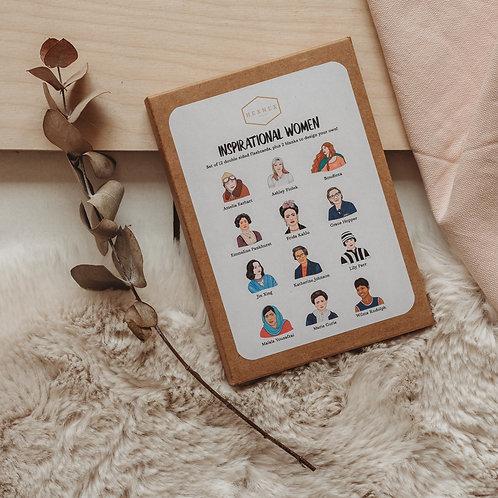 Inspiring Women Postcard Set