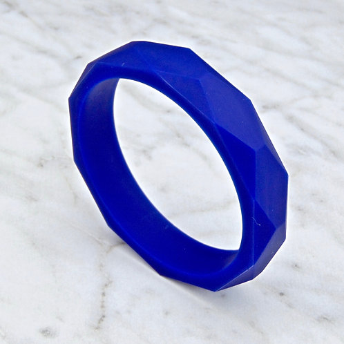 Navy Blue Teething Bangle