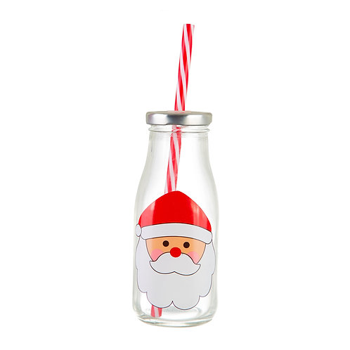 Santa's Milk Bottle