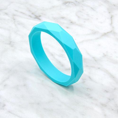 Ocean Turquoise Teething Bangle