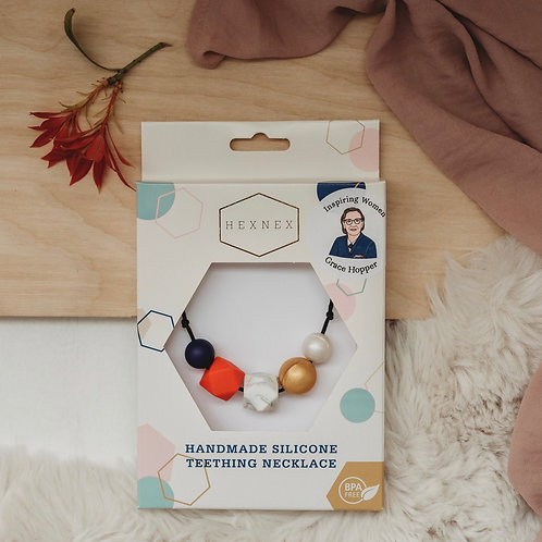 Grace Hopper - Inspiring Women Necklace