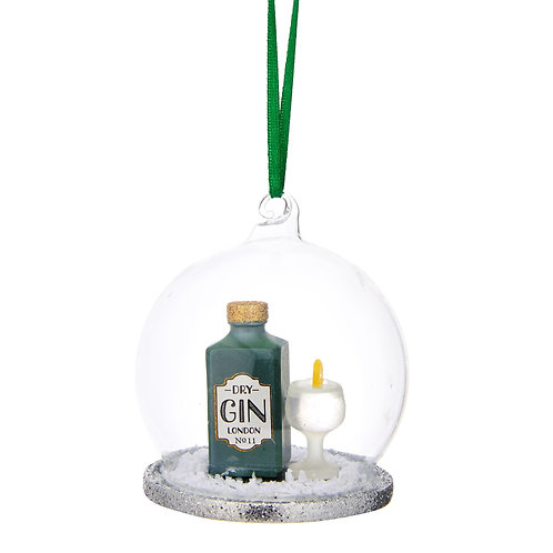 Gin-gle All the Way Bauble