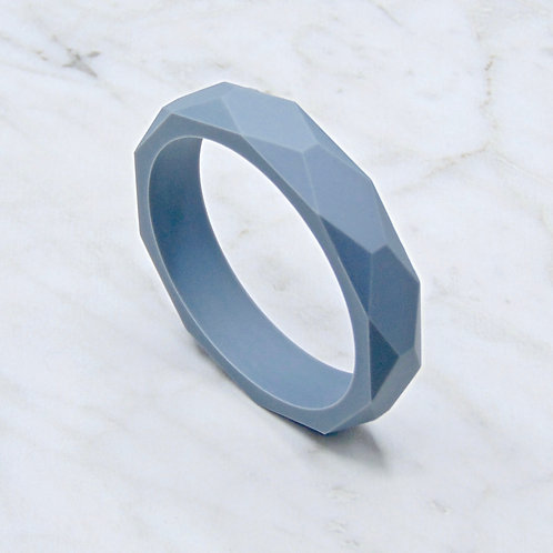 Slate Grey Teething Bangle