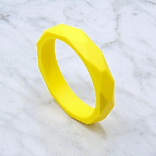 Sunshine Yellow Teething Bangle