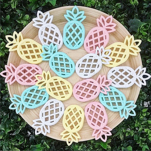 Pineapple Teether by Logan and Alice