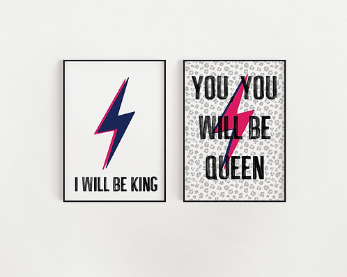 Any TWO Bowie Prints!