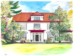 Commissioned House Portrait