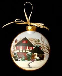 House portrait ornament