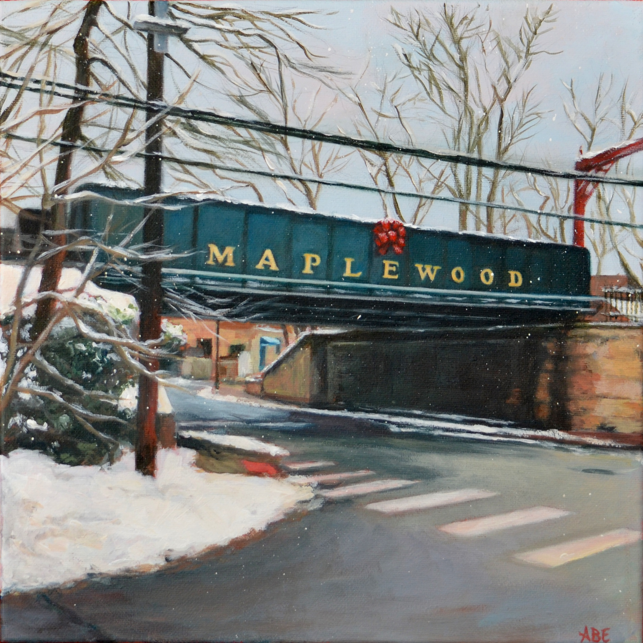Maplewood Train Station Bridge