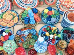 Moroccan Pottery - Safi