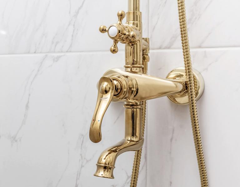 Lisana badrumsrenovering i marmor