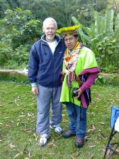 CON SHAMAN DE AMAZONAS