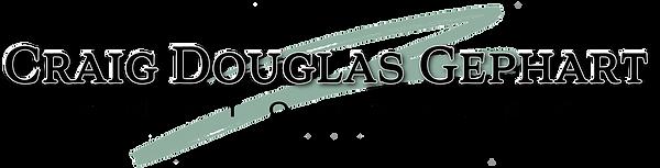 Craig Douglas Gephart Photography site logo