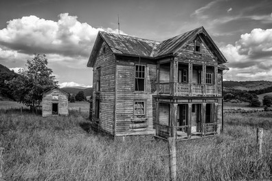 Abandoned house near Frost, WV.