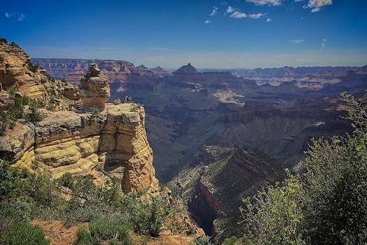 Grand Canyon South Rim location