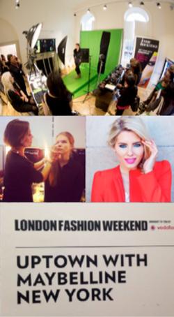 Maybelinne London Fashion Week