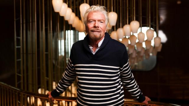 Richard Branson Virgin Voyages Luanch