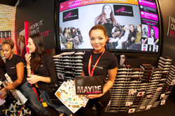 Maybelline Green Screen Booth