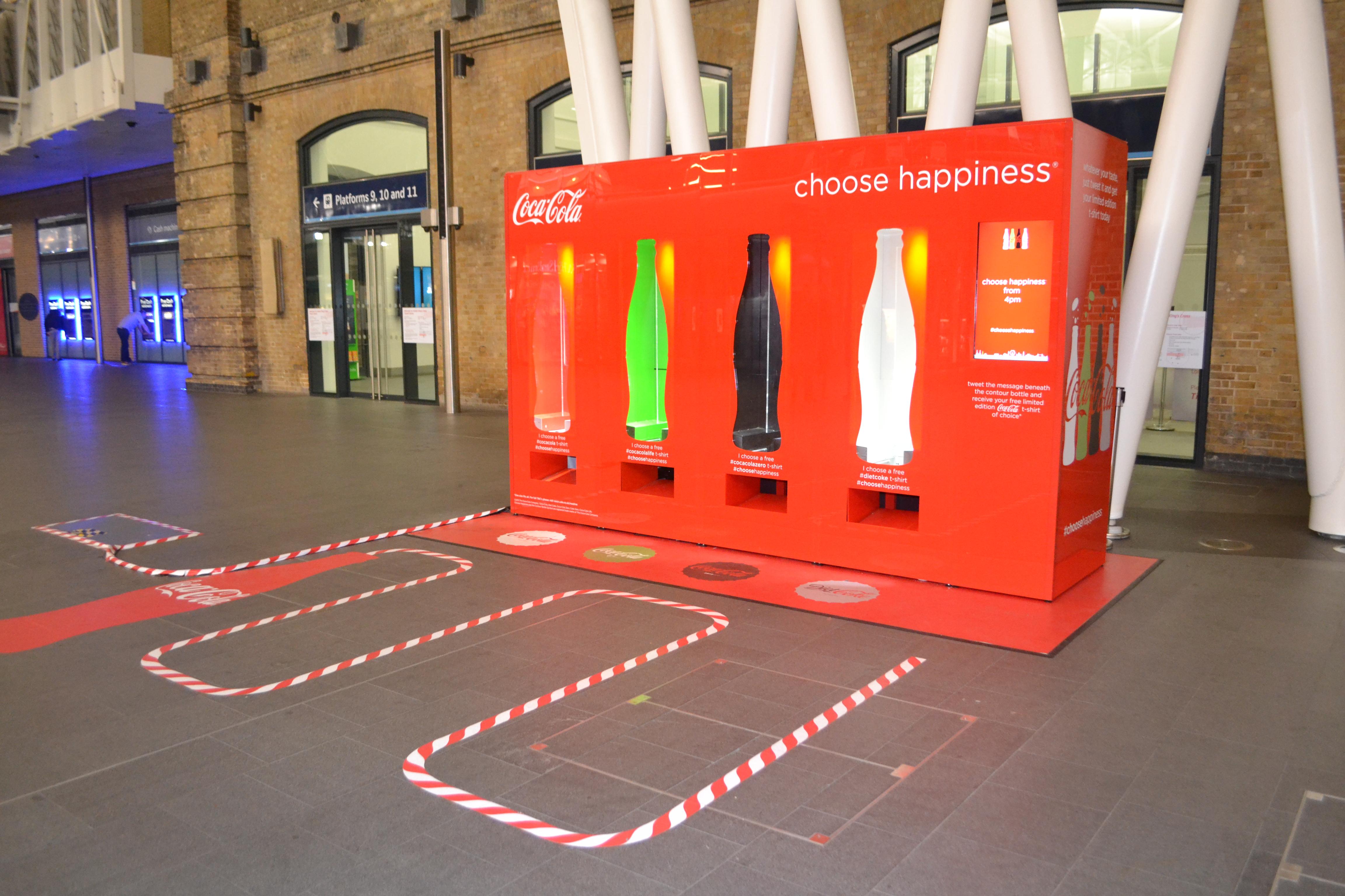 Coke twitter vending