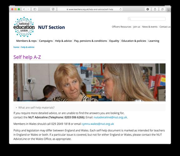 Client - National Union of Teachers