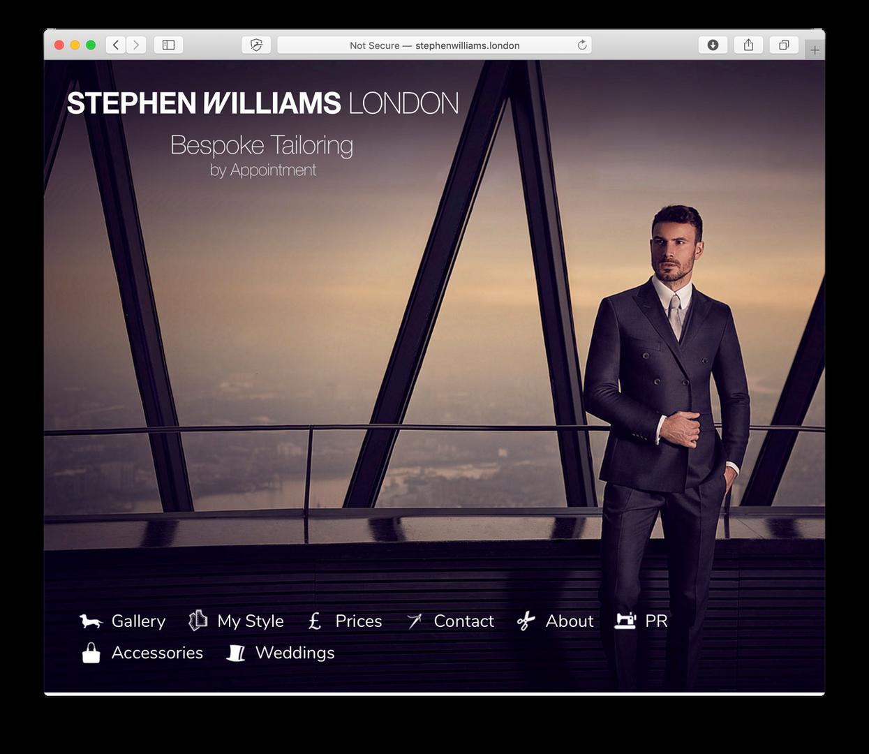 Client - Stephen Williams London