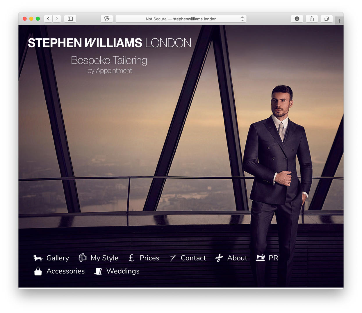 Client - Stephen Williams London