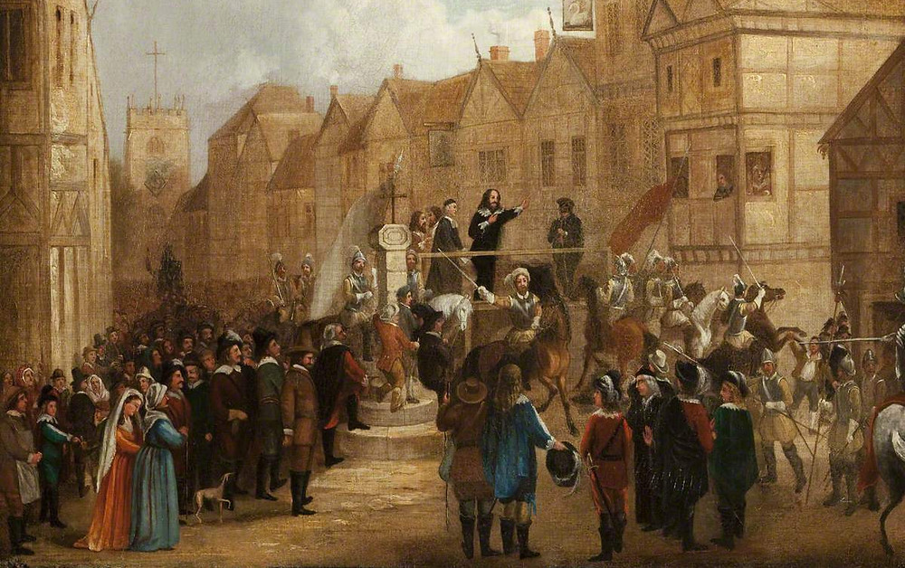 Unknown artist: The Execution of James, 7th Earl of Derby.