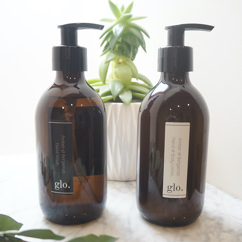 Amber & Bergamot Hand & Body Lotion