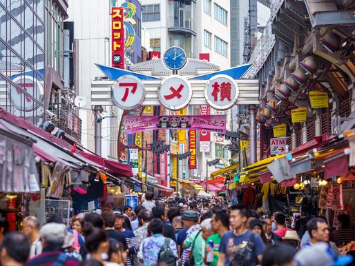 Ameyoko Market, a Street Food Mecca