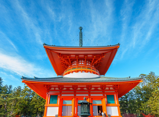 Mt. Koya, where Japanese Buddhism Took Hold