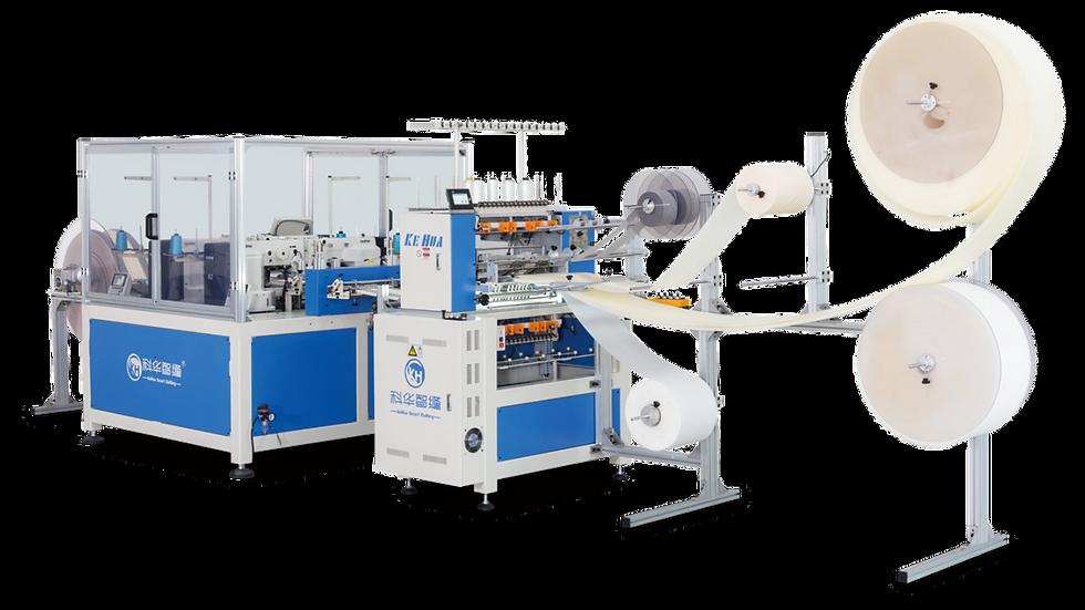 Four-head Dotting Machine+Linear Quilting Machine KH-DK104; KH-ZX1