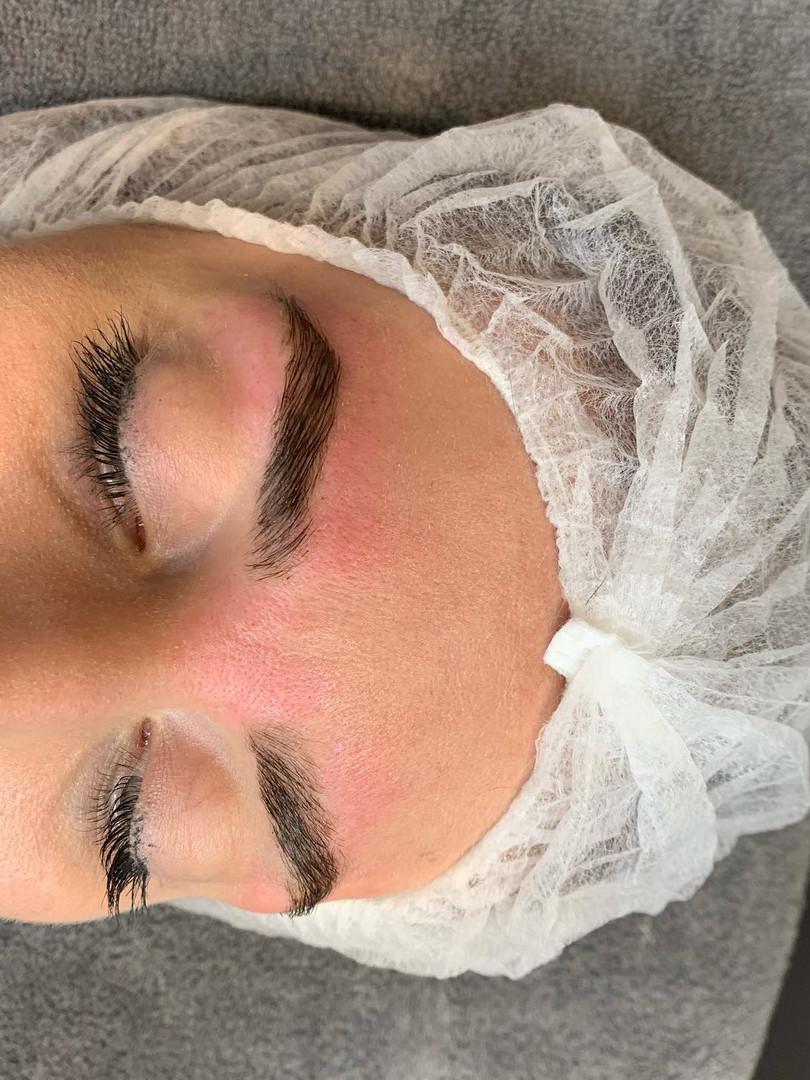 eyebrow wax tint and limitation