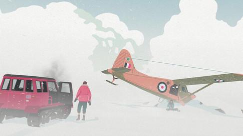 SOTC - Plane Crash