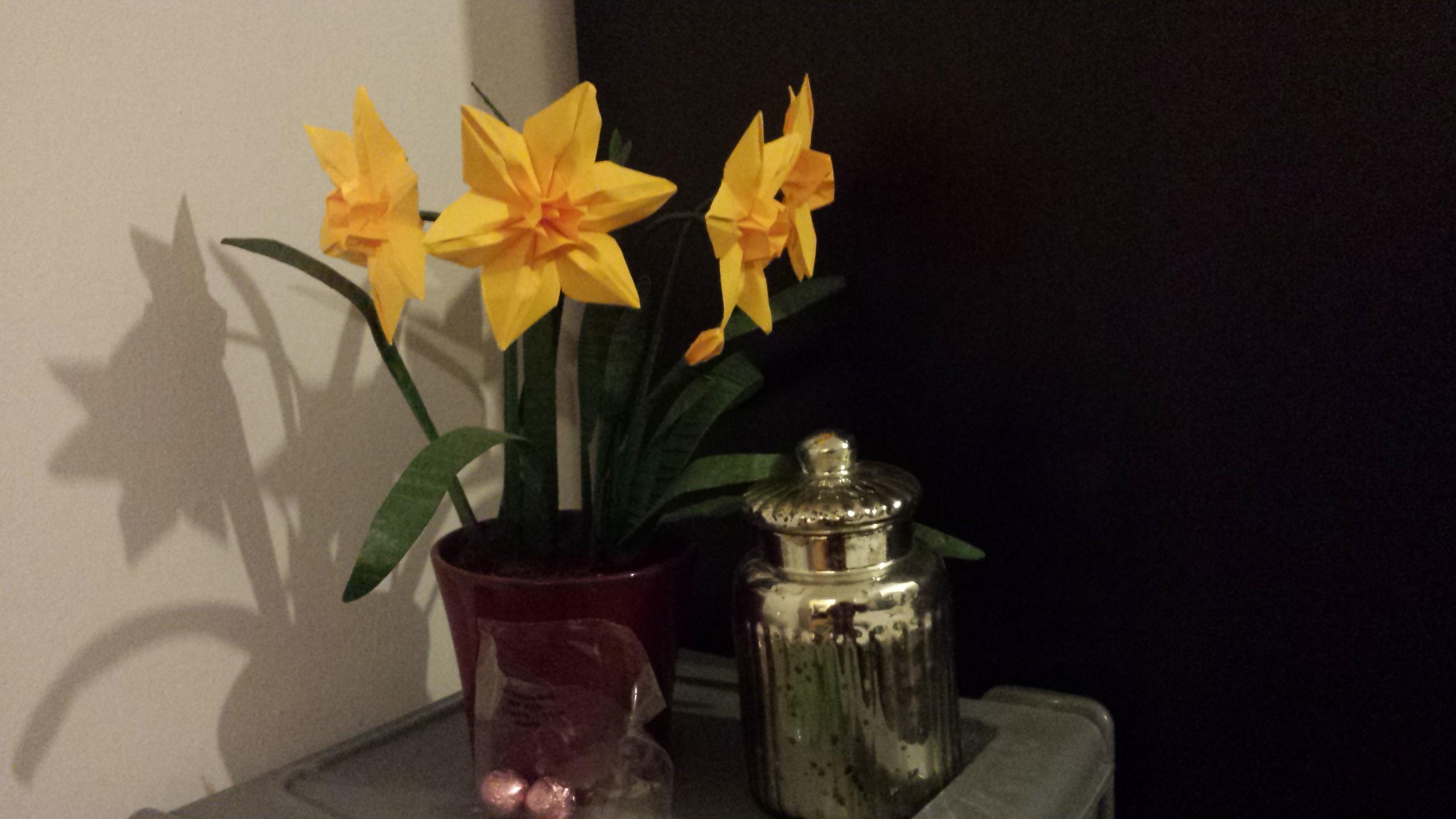 Origami Narcissus 3