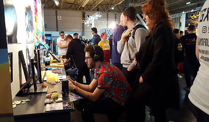 Game Testing of Misfolded at EGX 2018