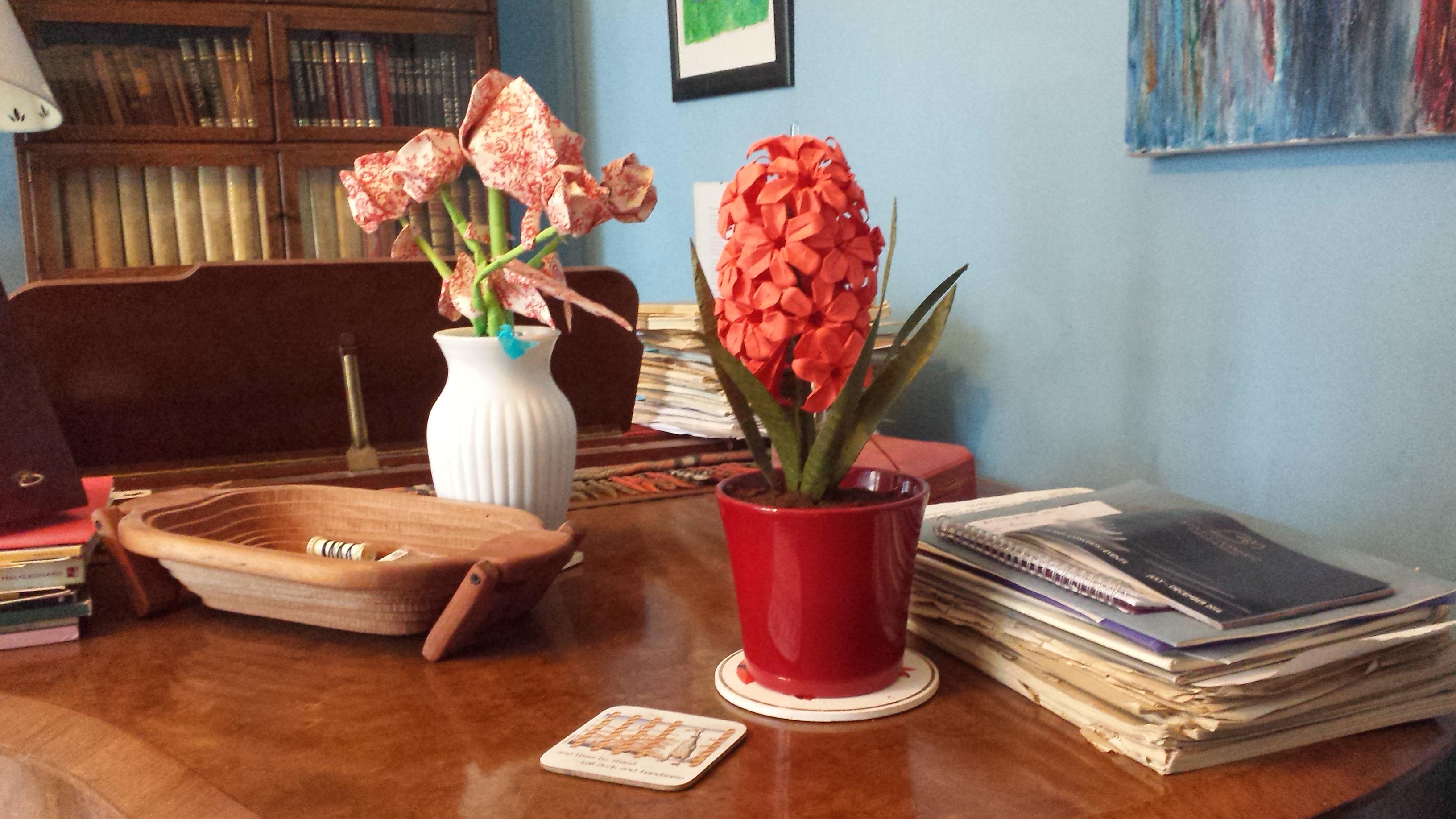 Origami Hyacinth 5