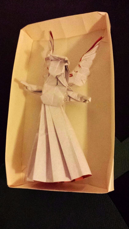 Origami angel 3