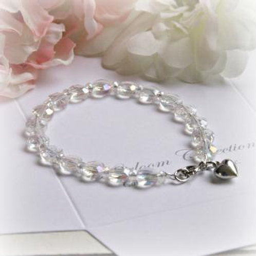 "Crystal Bracelet  6"""