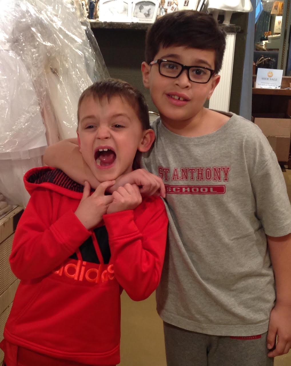 Eli & Daniel St. Anthony's
